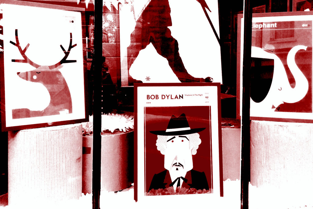 Bob Dylan Front Window