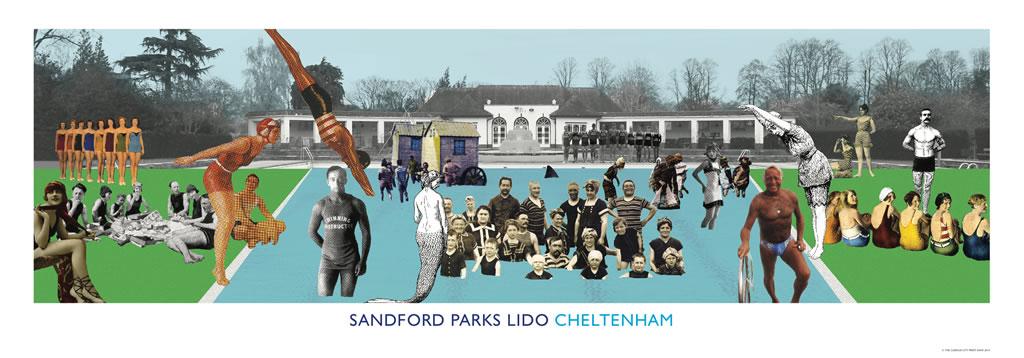 Sandford Parks Lido - Cheltenham